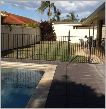 Patios - Gold Coast - Brisbane - patios Before with Fancing