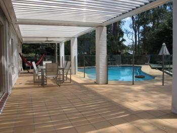 Patios - Gold Coast - Brisbane - Outdoor Space with Lake