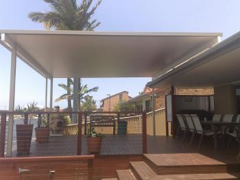 Patios - Gold Coast - Brisbane - Flat Patio Kits in Flatdeck System Lysaught BlueScope Steel