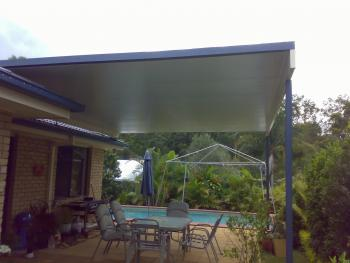 Patios - Gold Coast - Brisbane - Outdoor space with Tea Table