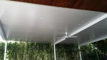 Patios - Gold Coast - Brisbane - Roofing With Fan