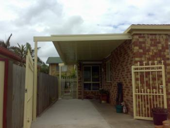 Patios - Gold Coast - Brisbane - Outdoor space with Gate